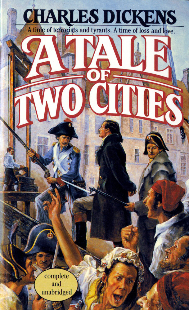 a literary analysis of terror in a tale of two cities by charles dickens A tale of two cities themes essays discuss several major themes that run throughout the story in charles dickens' novel.