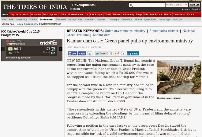 http://timesofindia.indiatimes.com/home/environment/developmental-issues/Kanhar-dam-case-Green-panel-pulls-up-environment-ministry/articleshow/46335741.cms