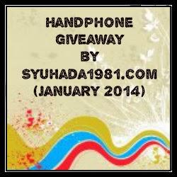 Handphone Giveaway anjuran blog Syuhada1981.com