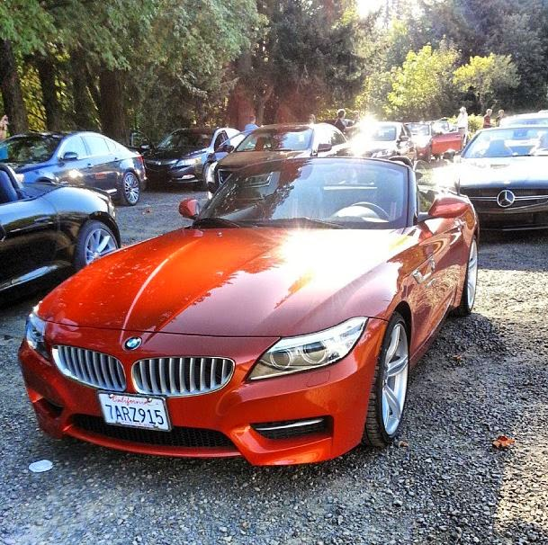 BMW Z4 (Valencia Orange)