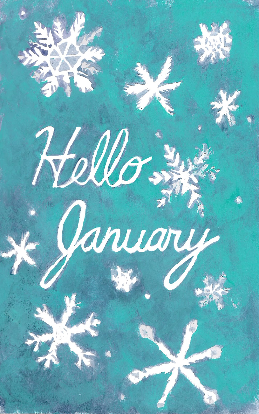 Iphone 6 Wallpaper Size Heather Powers Art Hello January Wallpapers