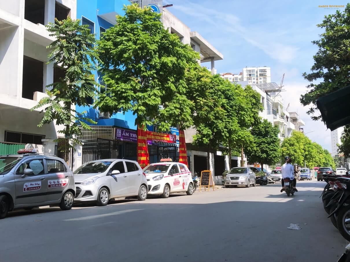 Cảnh quan xung quanh ngõ 622 Minh Khai