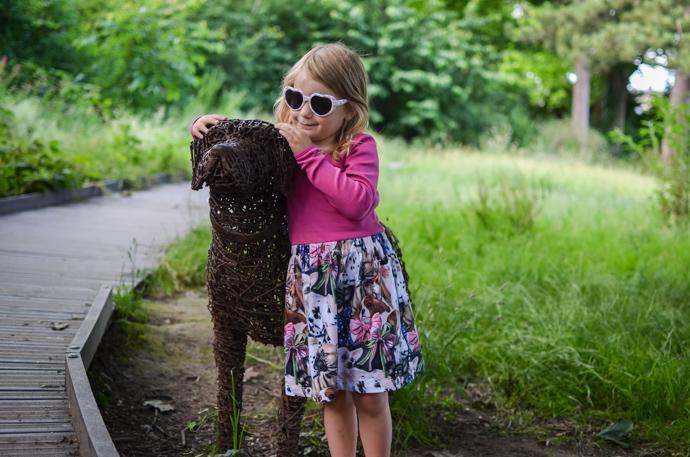 Molo dress, dog loving girl, Childrensalon
