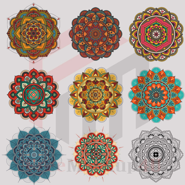 Zakharf Decoretive Mandala Vector Big Bundle Pack