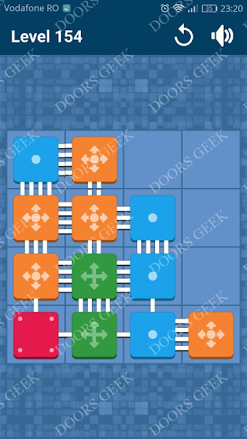 Connect Me - Logic Puzzle Level 154 Solution, Cheats, Walkthrough for android, iphone, ipad and ipod