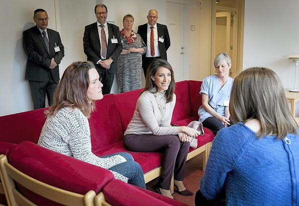 HRH Princess Marie is a patron of the Danish Epilepsy Association and Kattegatcentret