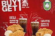 Promo KFC HUT Pare Pare Buy 1 Get 1 Hanya Sehari Untuk Hari Ini