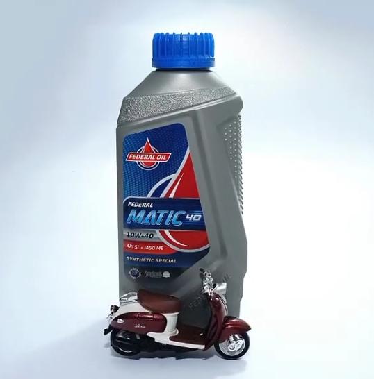 Gunakan Oli Federal Matic 2x Revolusi Dingin Untuk Perawatan Terbaik Motor Matic Anda
