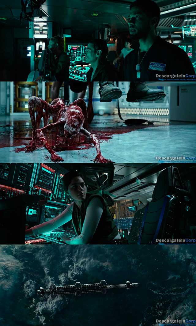 Alien Covenant (2017) 4K UHD Latino