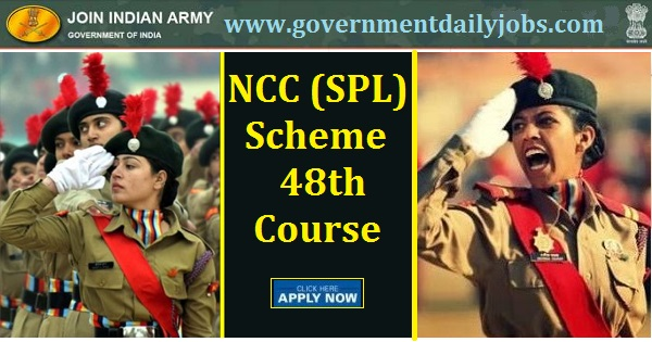 Join Indian Army Recruitment 2020 | NCC Special Entry Scheme 48th Course