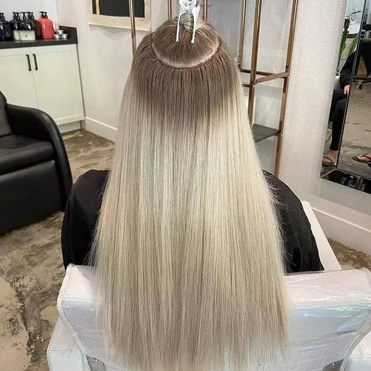hair extensions human hairs