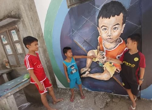 Three central mural villages attract tourists