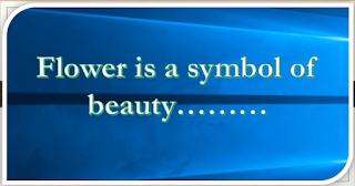 প্রাথমিক সমাপনী প্রস্তুতি-2018: Unseen passage(6)-Flower is a symbol of beauty..... (Download Now!)