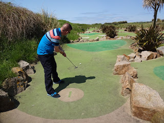 The 400th course we played was at Les Mielles in Jersey in 2016