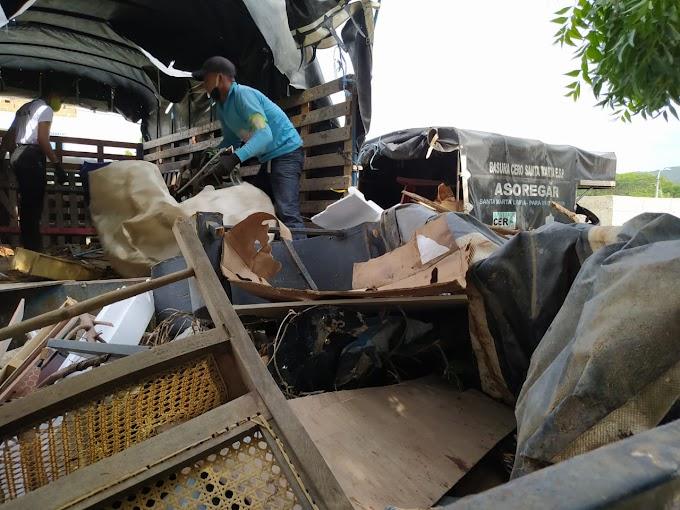 Dadsa impide que más basura llegue al mar con recolección de 4 toneladas de material inservible y reciclable cerca al río Manzanares