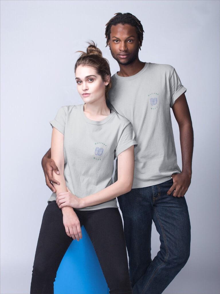 Camisetas de viagem com desconto