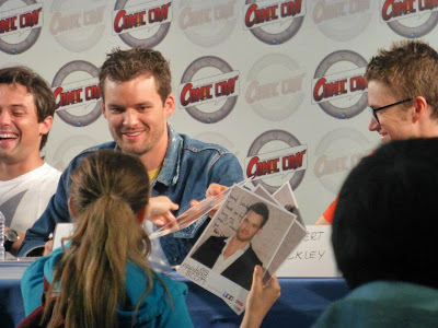Masterclass avec acteurs de One Tree Hill Comic Con Paris 2012