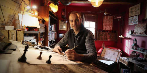 Pour son livre sur les échecs, Frédéric Pierrat reçoit le témoignage d'anciens otages en Syrie