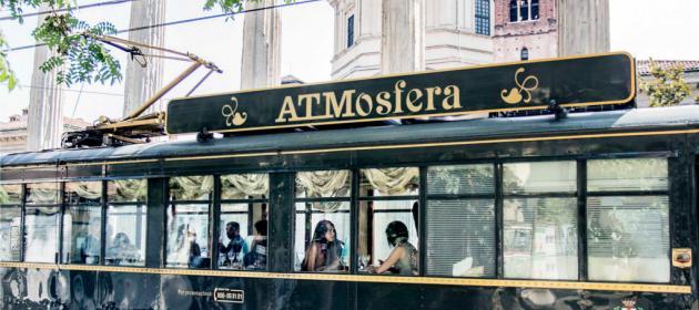 Ingressos para o restaurante elétrico ATMOSFERA em Milão