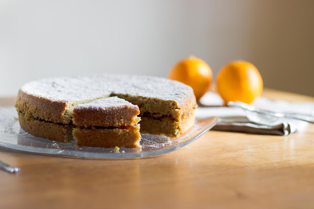 Blood Orange Polenta Cake [Vegan!], www.imogenmolly.co.uk