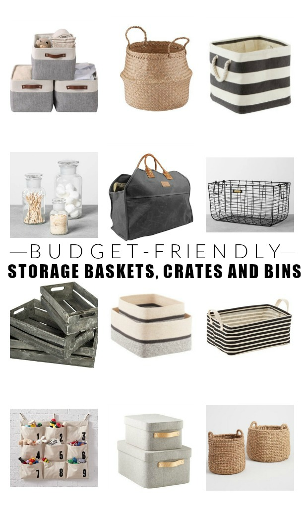 The best stylish and budget-friendly storage