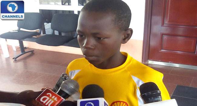 11-Year-Old Ekiti Table Tennis Player