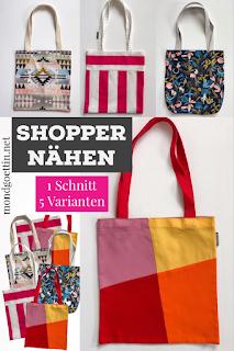 Shopper 1 Schnitt 5 Varianten