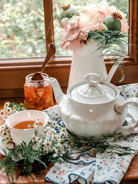 herbata, fermentacja, liście, maliny, drzewa-owocowe