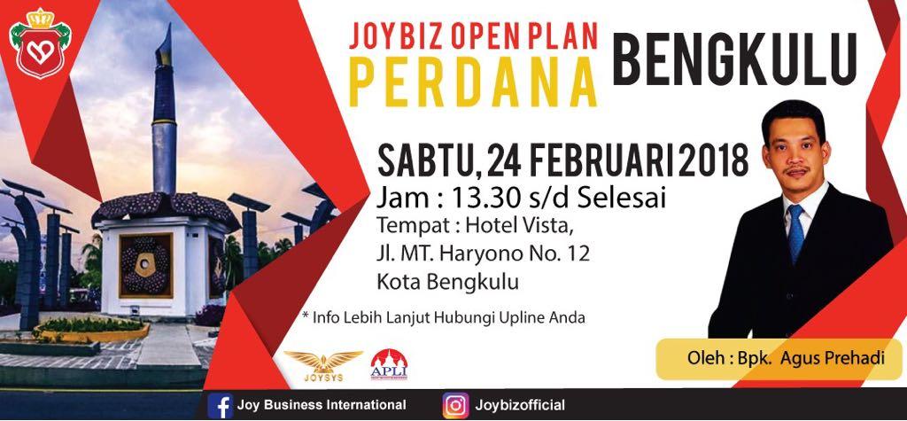 Presentasi JOP Perdana Joybiz di Kota Bengkulu
