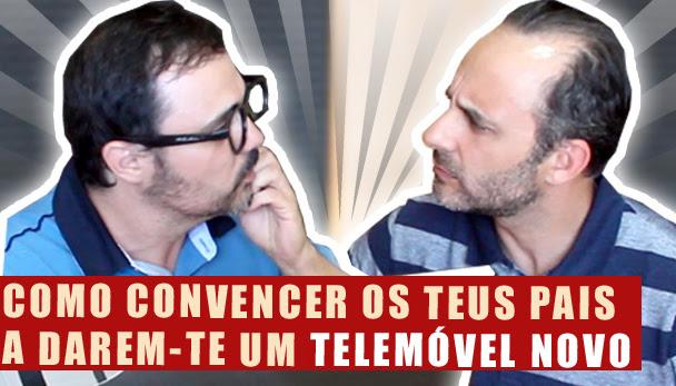 Como convencer OS TEUS PAIS a darem-te um TELEMÓVEL NOVO (Ft. Rui Unas)