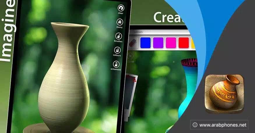 تحميل لعبة let's create pottery مهكرة كاملة للأندرويد