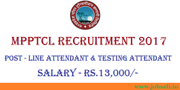MPPTCL career, 10th pass govt job, line attendant exam date