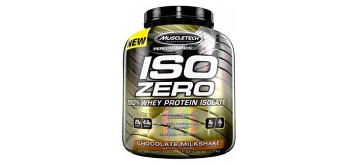 Proteína sin carbohidratos Iso zero de muscletech