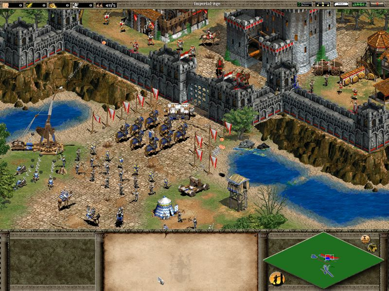 AGE OF EMPIRES 2: THE CONQUERORS EXPANSION HIGHLY COMPRESSED