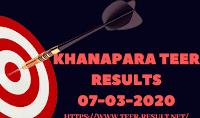 Khanapara Teer Results Today-07-03-2020