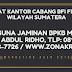 ALAMAT KANTOR CABANG BFI FINANCE WILAYAH SUMATERA