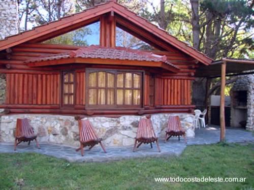 Arquitectura de casas casas vacacionales de piedra y - Casas de piedra y madera ...