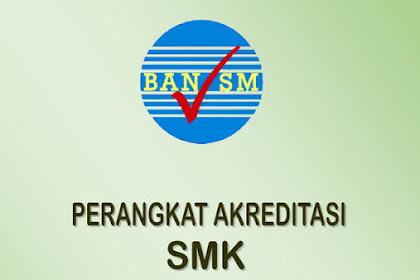 Perangkat Akreditasi SMK/MAK 2018 Terbaru