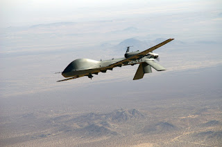 Syrian spy drone over Golan Heights