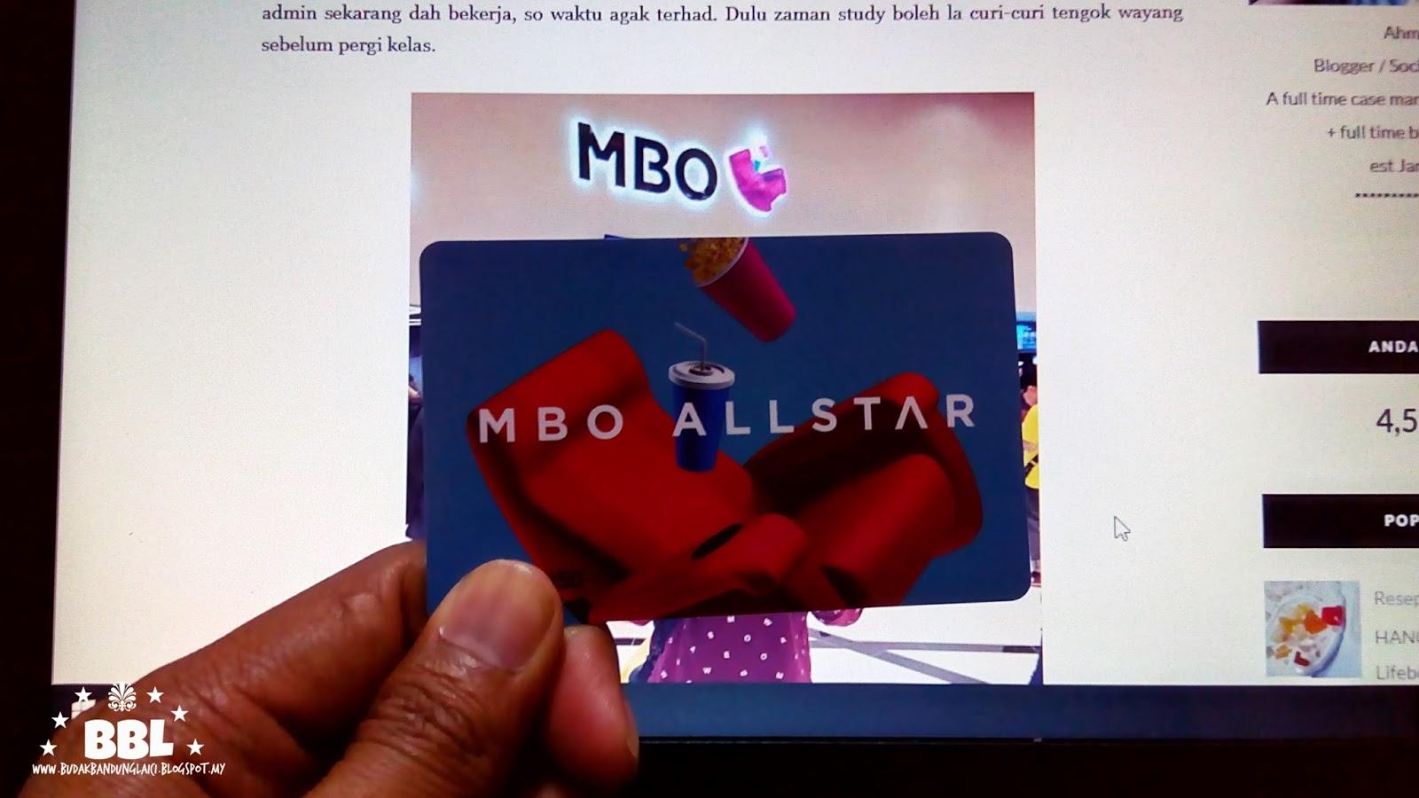 Kelebihan Jadi Mbo Cinema Allstar Membership Budak Bandung Laici
