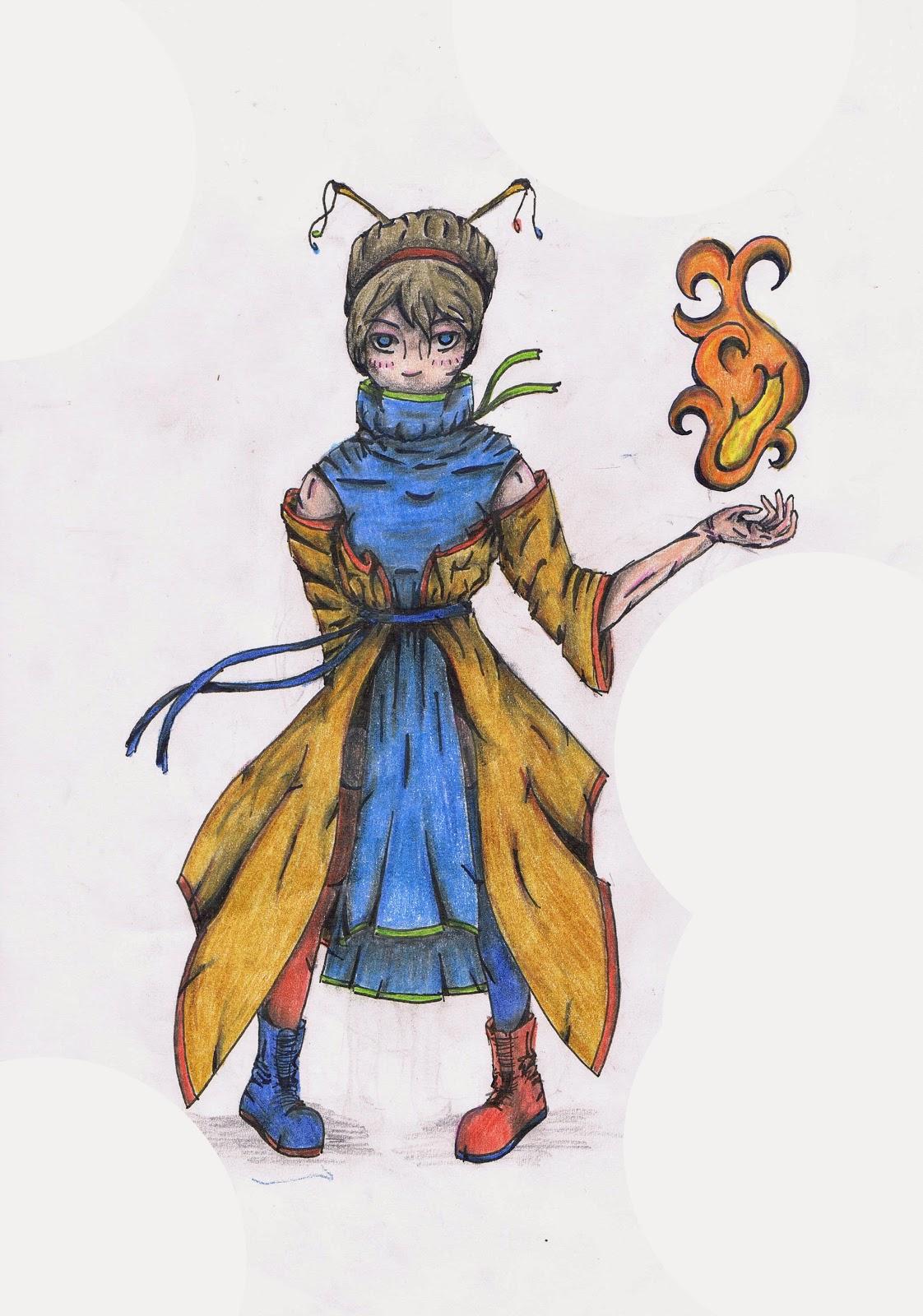 Księżniczka władająca ogniem