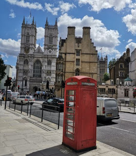 Fachada Oeste de la Abadía de Westminster.