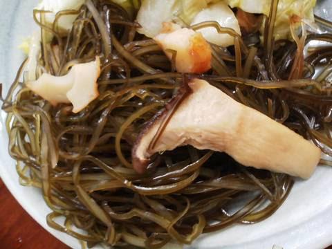 切こんぶ含煮 焼肉じゅうじゅう5回目