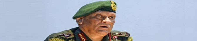 India Will Not Get Pushed Under Any Pressure: Cds Gen Rawat On Ladakh Standoff With China