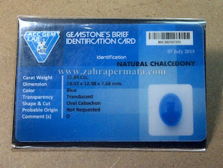 Batu Blue Chalcedony