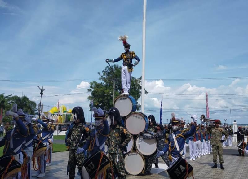 Genderang Suling Gita Jala Taruna AAL Angkatan  LXVII Getarkan negeri Seribu Pantun
