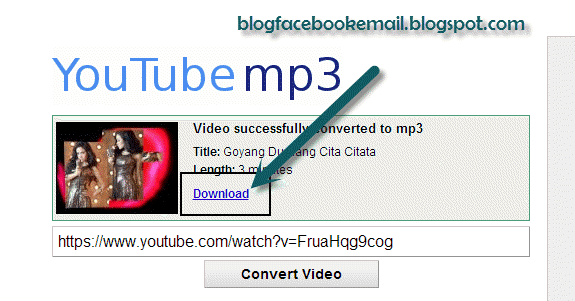 Cara mendonwloaed dan merubah format internet jadi format mp Tutorial Mendownload Video Internet dengan Format Mp3