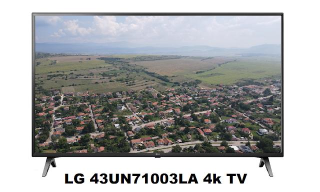 LG 43UN71003LA 4k Smart TV