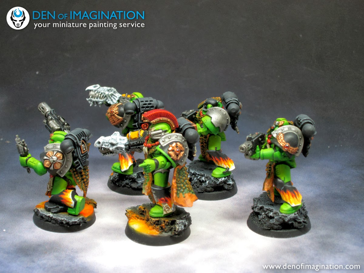 separation shoes 4b2e0 0ef0d The lava pattern on five black loincloths is quite similar to freehands the  captain of the infantry and librarian got. The black faces weren t really a  good ...