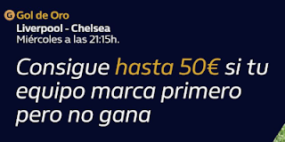 william hill Gol de Oro Liverpool vs Chelsea 22-7-2020